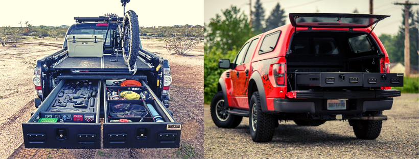 Extreme All-Weather TRUCKVAULT Pickup 2 drawer