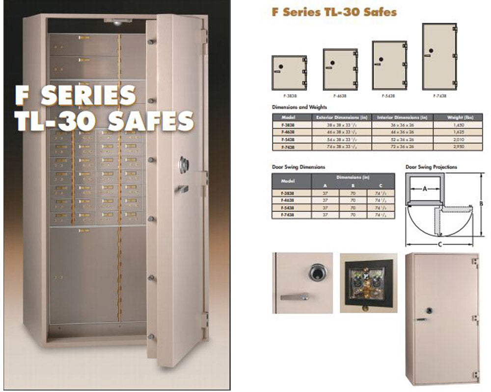 F TL-30 Plate Steel Safes