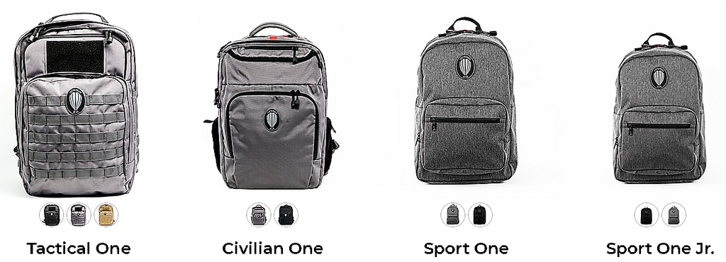 Leatherback Gear Tactical One Bulletproof Backpack
