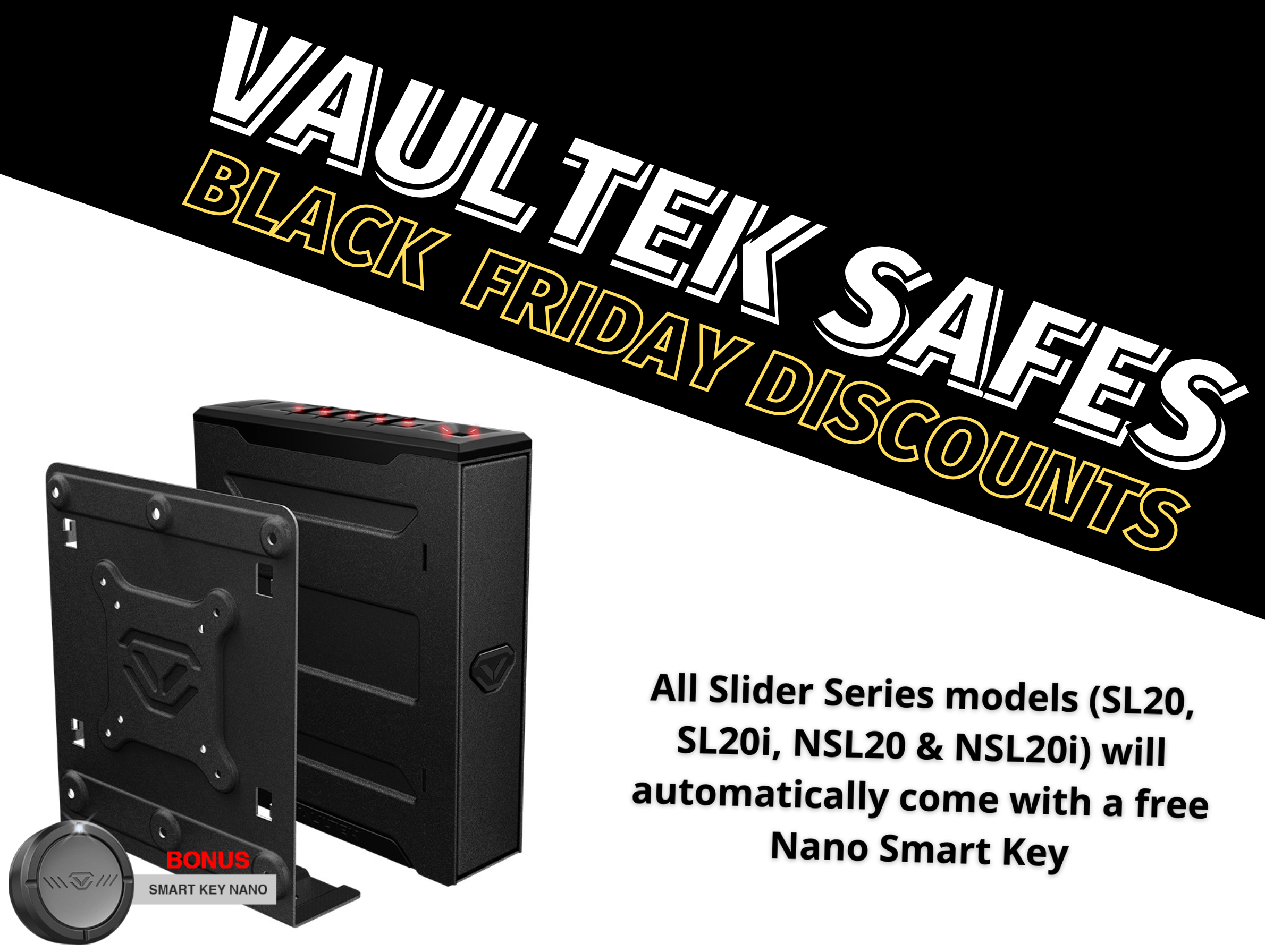 Vaultek Slider Black Friday