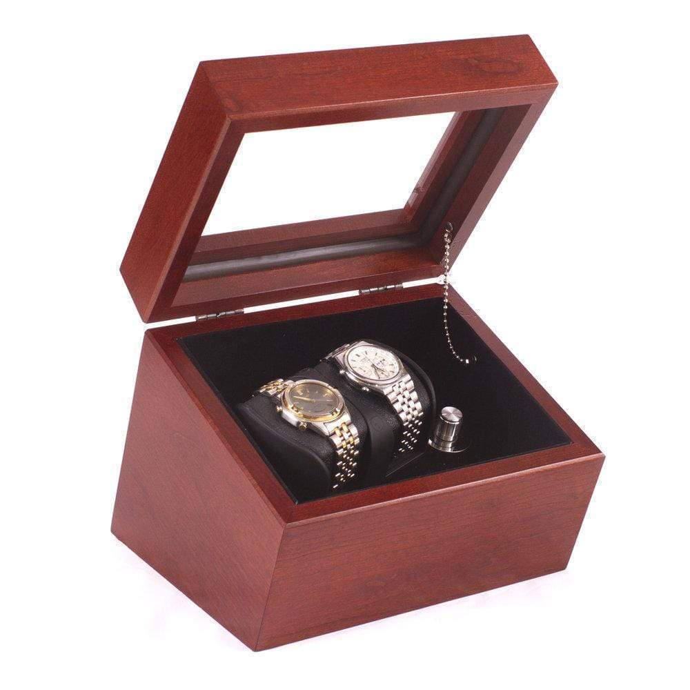 American Chests ADMIRAL - Double Watch Winder Armadillo Safe and Vault