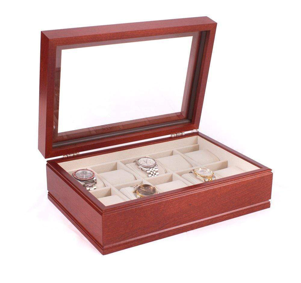 American Chests COMMANDER - 10 Watch Chest Armadillo Safe and Vault