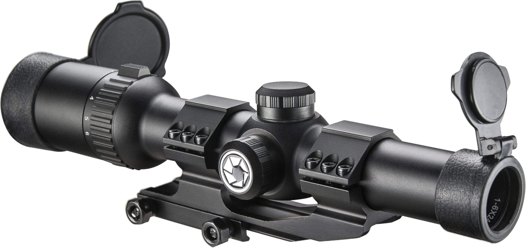 Barska 1-6 x 24mm IR AR6 Tactical Rifle Scope Armadillo Safe and Vault