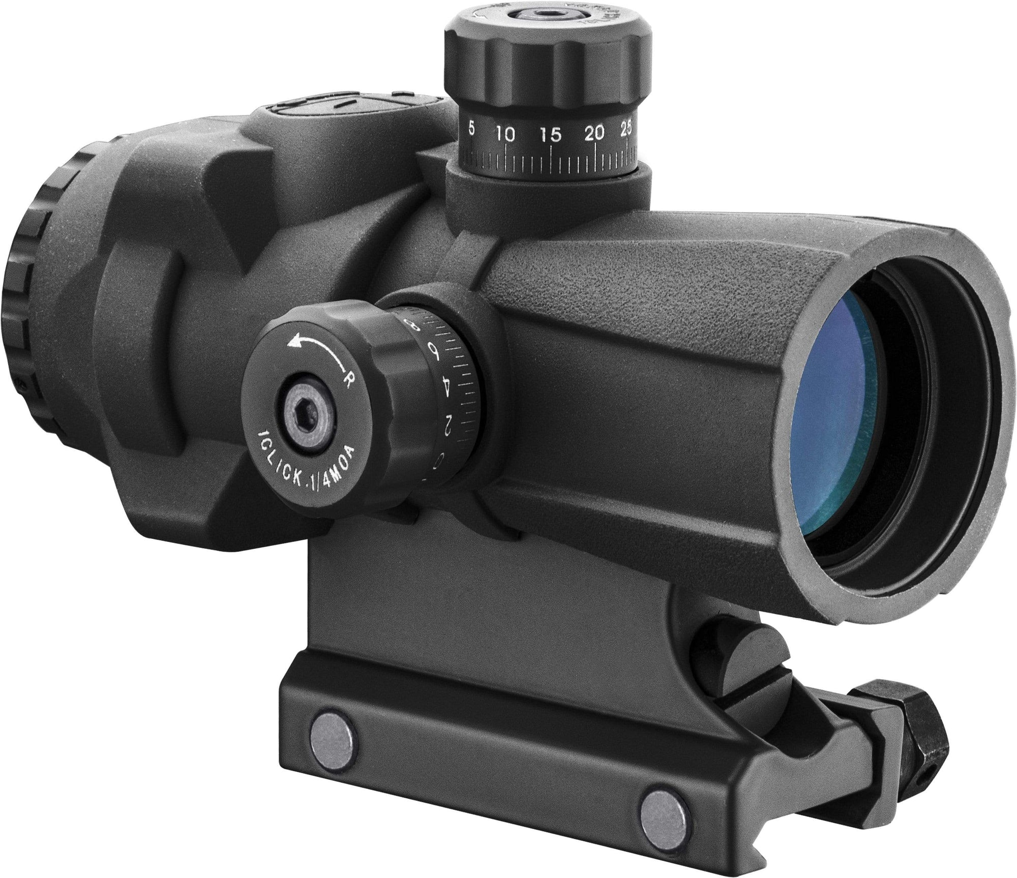 Barska 3 x 30mm AR-X PRO Prism Scope (Black) Armadillo Safe and Vault