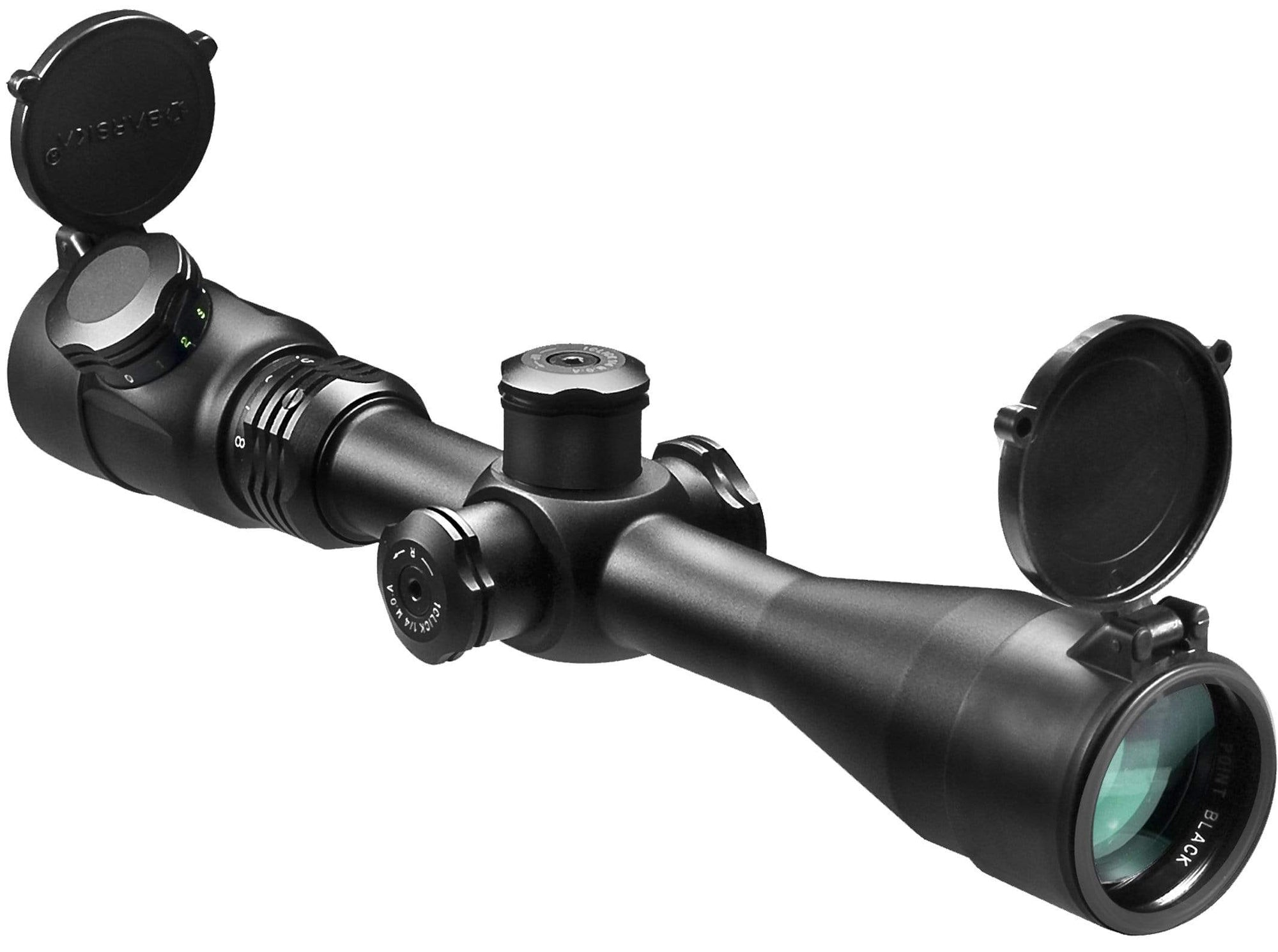 Barska 4-16 x 40 IR 3G Point Black .223 B.D.C. Rifle Scope Armadillo Safe and Vault