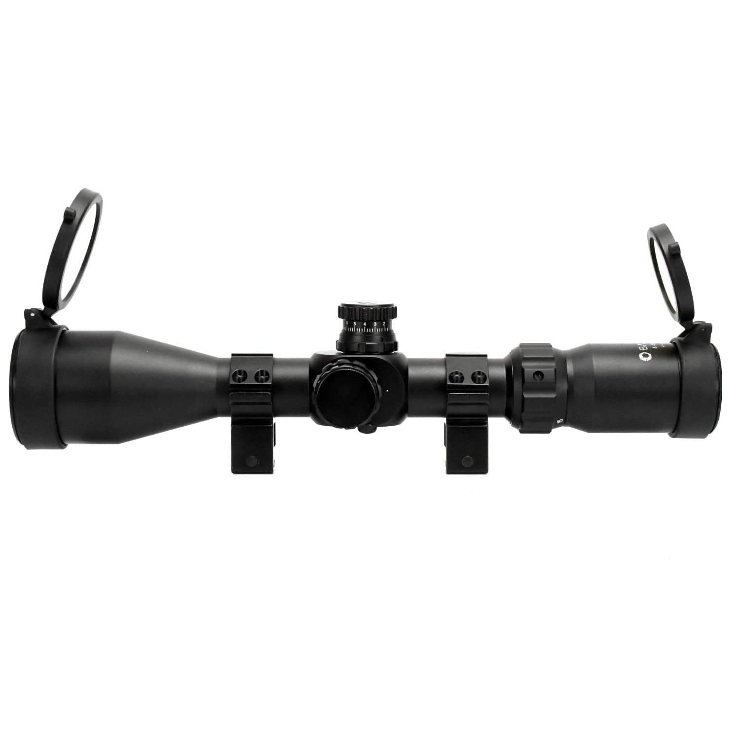 Barska 4-16x 50mm IR Tactical Scope with First Focal Plane Trace MOA Reticle Armadillo Safe and Vault
