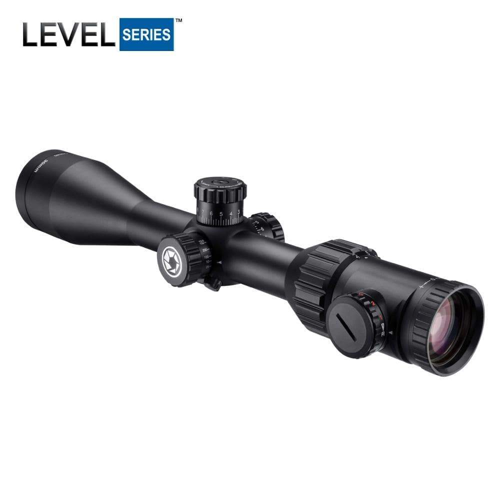 Barska 4-16x50mm Level Rifle Scope Armadillo Safe and Vault