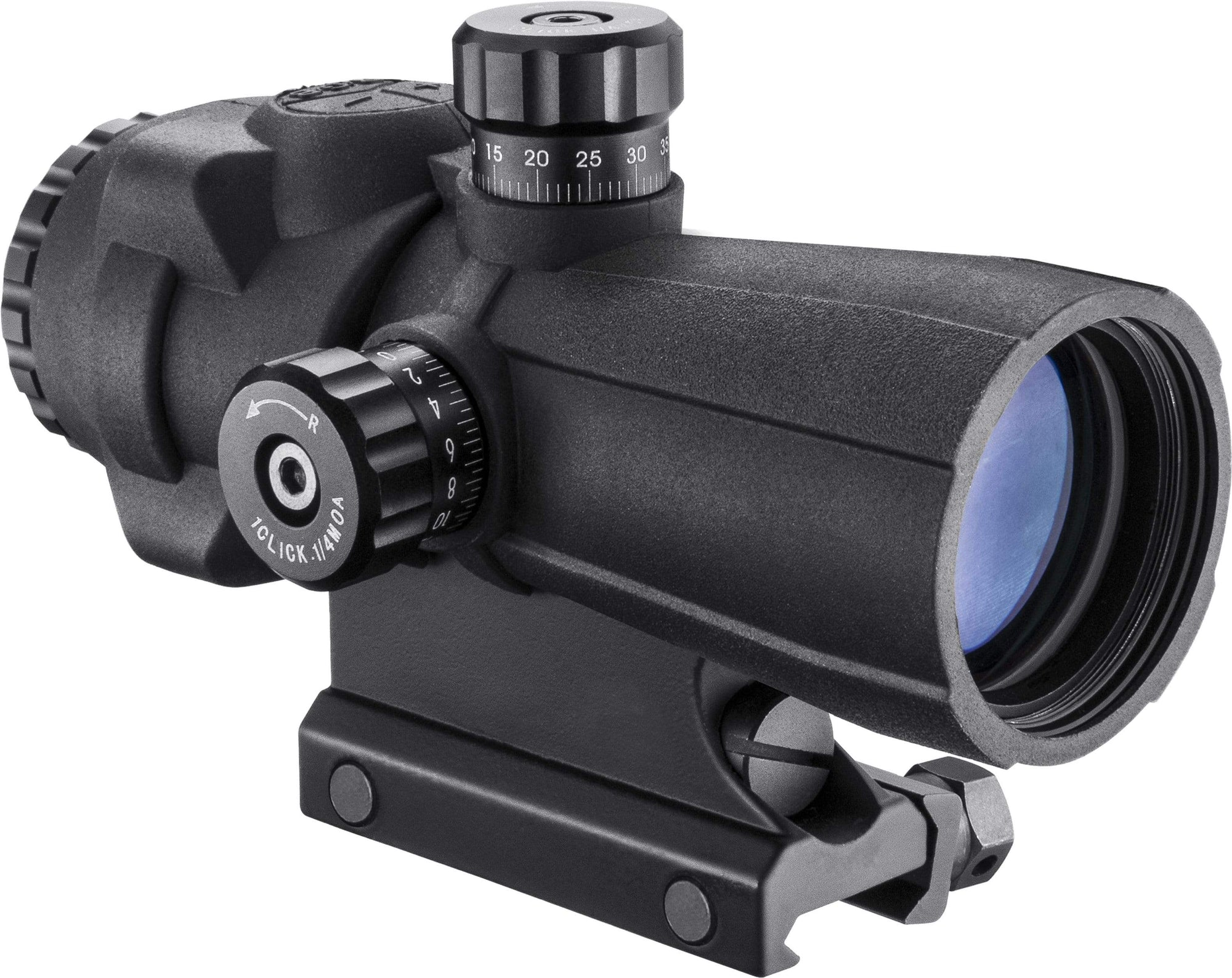 Barska 4 x 32mm AR-X PRO Prism Scope (Black) Armadillo Safe and Vault