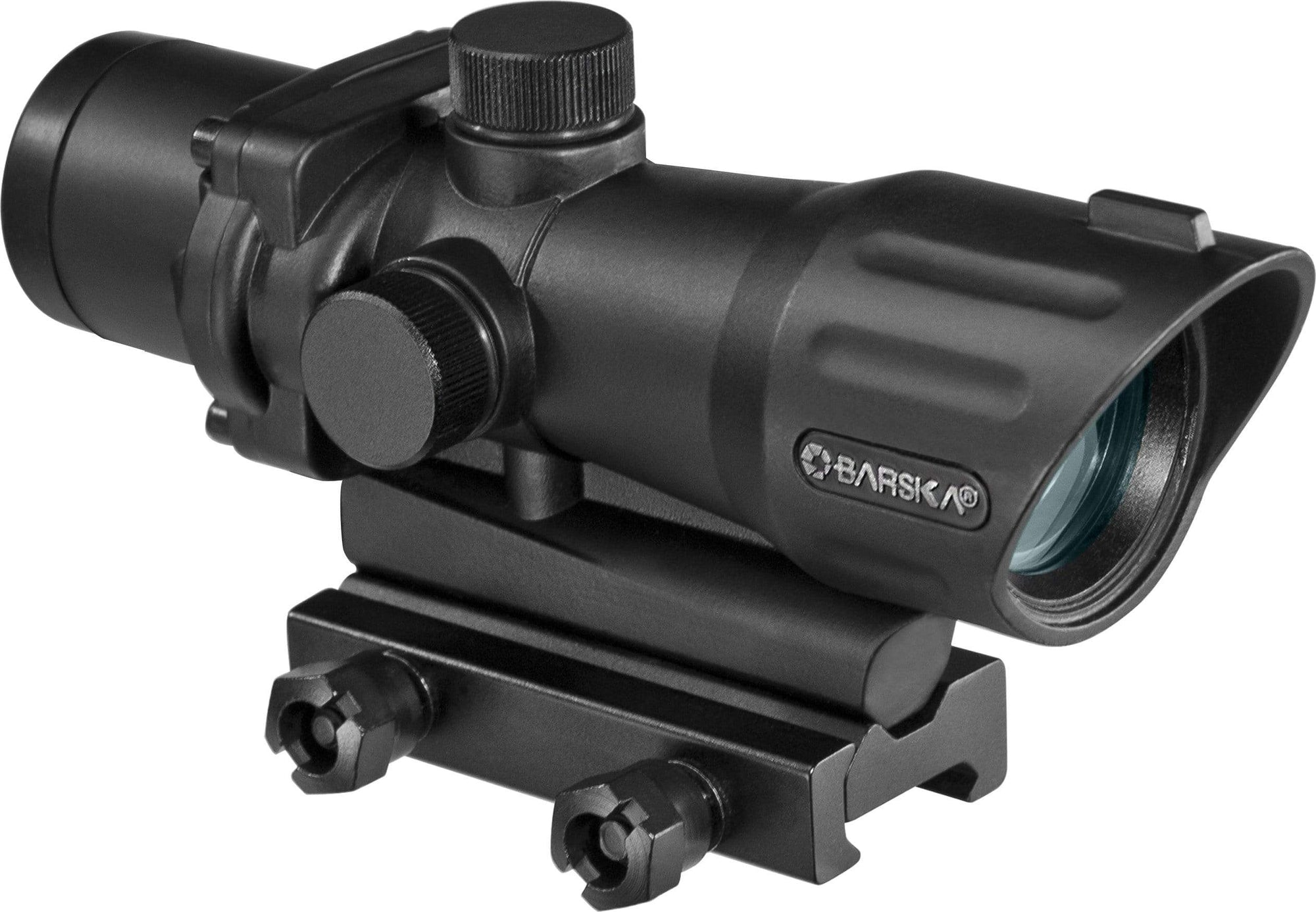 Barska 4 x 32mm Electro Sight Mil Dot Armadillo Safe and Vault