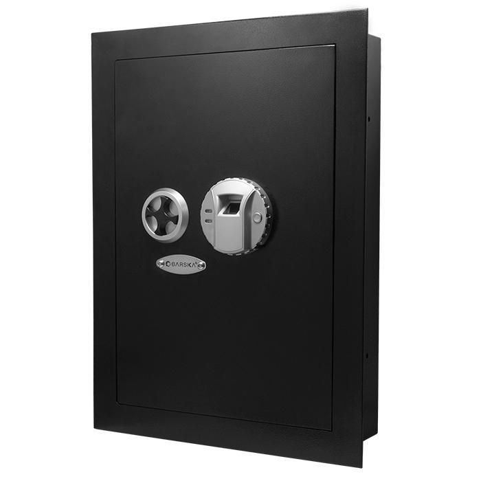 Barska Biometric Wall Safe Armadillo Safe and Vault