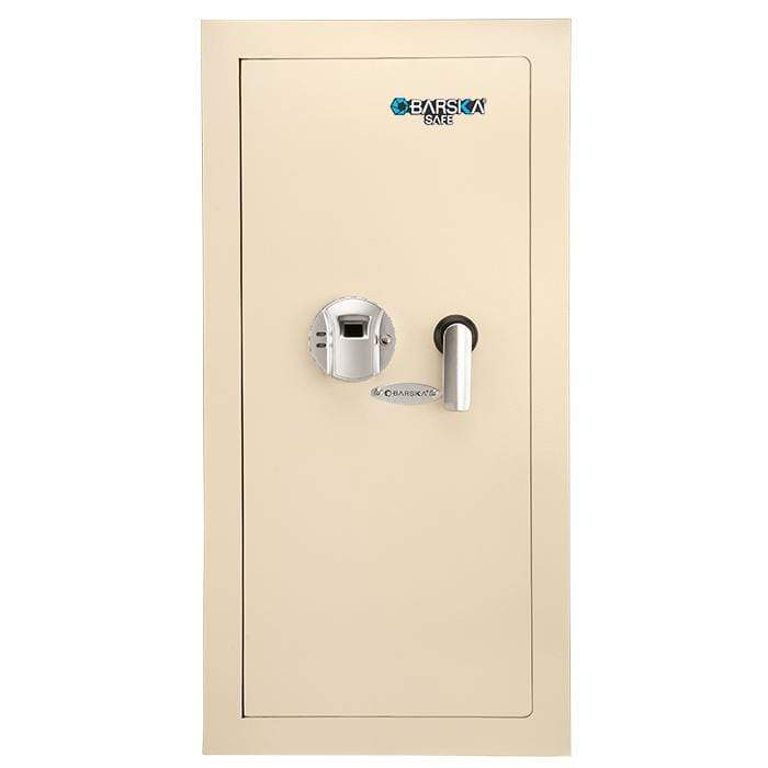 Barska Large Biometric Wall Safe Left Opening Armadillo Safe and Vault