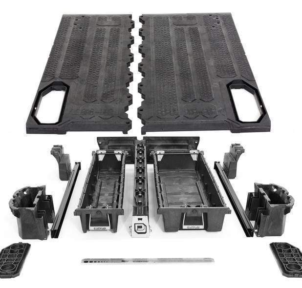 Decked Ford Super Duty 8 Foot (2017-current) Armadillo Safe and Vault