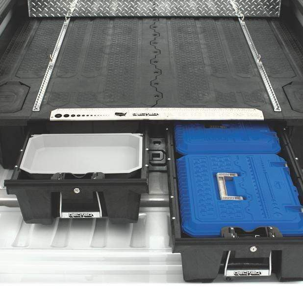"Decked Midsize Core Trax 1000 w/ 4 attachment loops (custom) - 44"" Armadillo Safe and Vault"