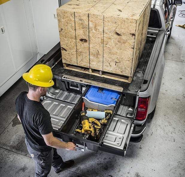 Decked Nissan Titan (2016-current) Armadillo Safe and Vault