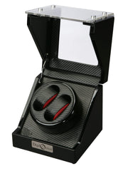 Diplomat 31-475 Gothica Black Wood Double Watch Winder