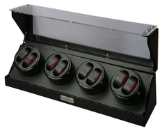 Diplomat 31-478 Gothica Black Wood Eight Watch Winder