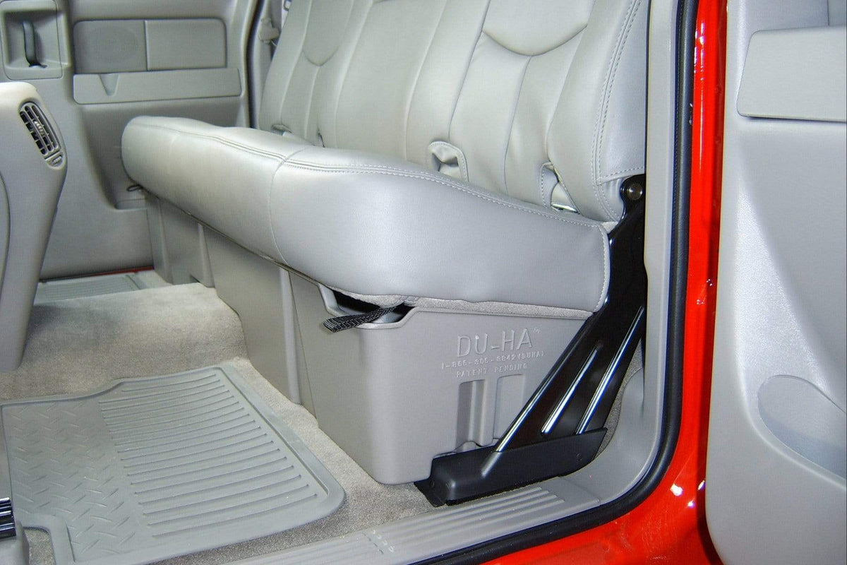DU-HA 1999-2007 Chevy Silverado/GMC Sierra Extended Cab (Classic) Underseat Cab Storage Armadillo Safe and Vault