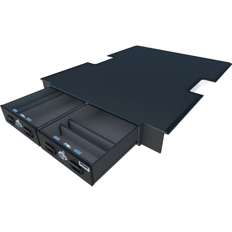Extreme All-Weather TRUCKVAULT Pickup 2 drawer Armadillo Safe and Vault