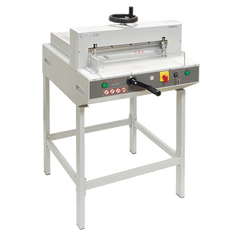Formax Cut-True 22S Semi-Automatic Guillotine  Electric  Cutter with Laser Line & Metal Stand Armadillo Safe and Vault