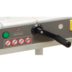 Formax Cut-True 22S Semi-Automatic Guillotine  Electric  Cutter with Laser Line & Metal Stand