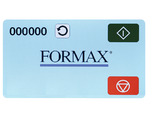 Formax FD 1506 Plus AutoSeal Mid-Volume Desktop w/Touchscreen and Integrated Conveyor Armadillo Safe and Vault