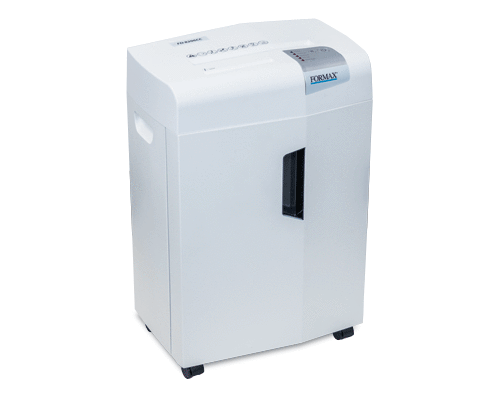 Formax FD 8206CC Deskside Cross-Cut Shredder Armadillo Safe and Vault