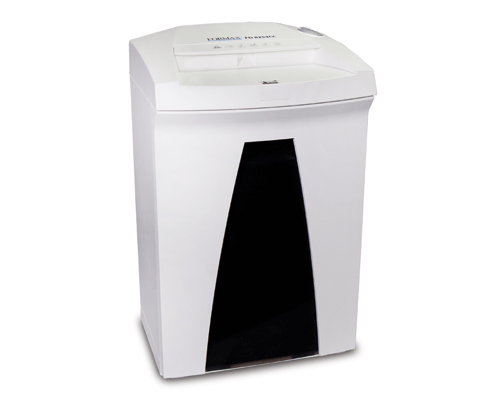 Formax FD 8254CC Deskside Cross-Cut Shredder Armadillo Safe and Vault