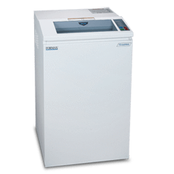 Formax FD 8400HS-1 OnSite Office Shredder High Security Level 6 Cross-Cut Includes Oiling System Armadillo Safe and Vault