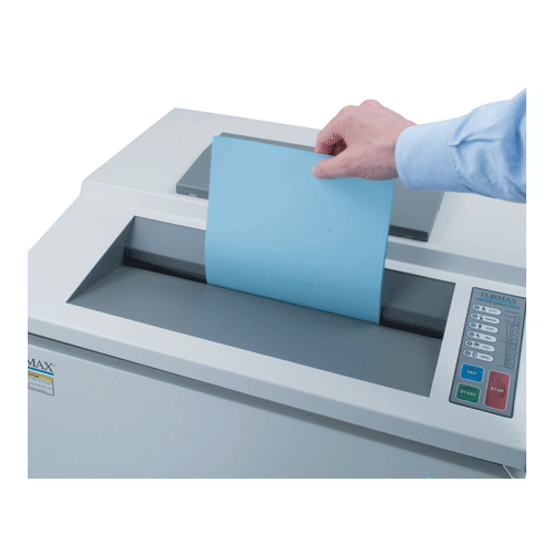 Formax FD 8502AF OnSite  AutoFeed Shredder Armadillo Safe and Vault