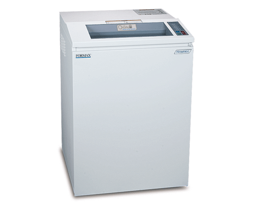 Formax FD 8602CC OnSite  AutoFeed Shredder Armadillo Safe and Vault