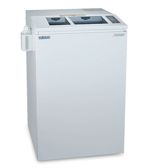 Formax FD 8730HS Office Shredder High Security Level 6 Paper and Optical Media Cross-Cut Armadillo Safe and Vault