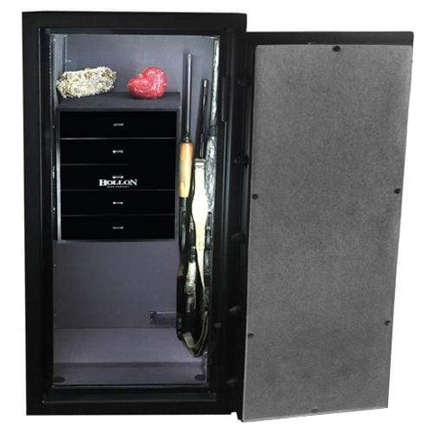Hollon BHJD-Single Drawer Fire & Burglary Jewelry Safe Armadillo Safe and Vault