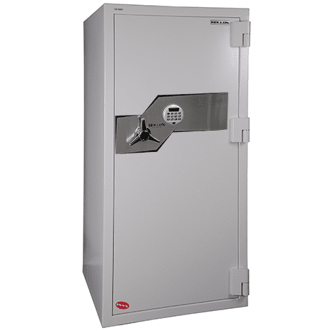 Hollon FB-1505E Fire and Burglary Safe - Electronic Lock Armadillo Safe and Vault