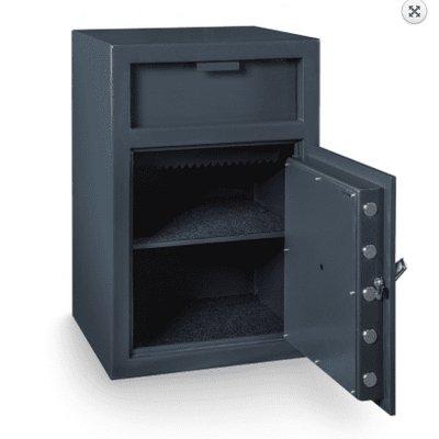 Hollon FD-3020E Depository Safe - Armadillo Safe and Vault