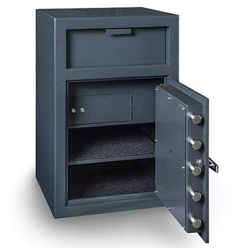 Hollon FD-3020EILK Depository Safe with Inner Locking Department Armadillo Safe and Vault
