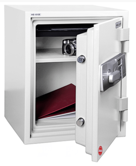 Hollon HS-610D 2 Hour Fireproof Office Safe Armadillo Safe and Vault