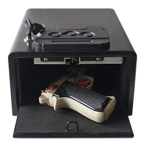 Hollon PB10 Pistol Box Safes Armadillo Safe and Vault