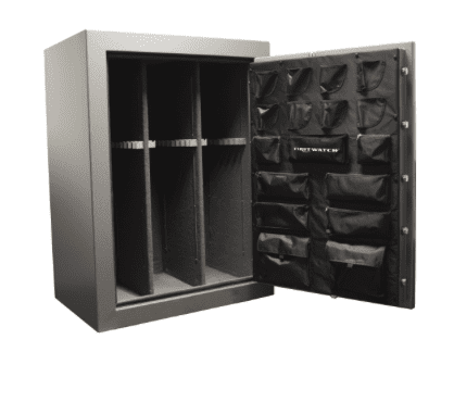 Homak First Watch SA50134540 Sierra Series Electronic 54 Gun Safe Armadillo Safe and Vault