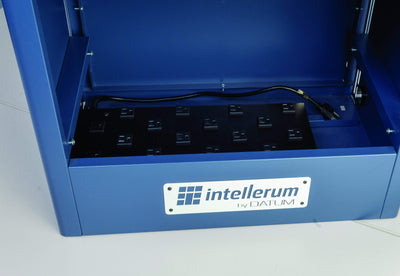 Intellerum TEKDL12-2-H -Large Device, 2 high 24 capacity w/ Timer hasp lock Armadillo Safe and Vault