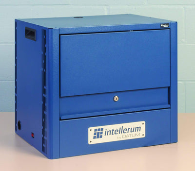 Intellerum TEKDL12-S-H - Large Device, 12 capacity Single Tier Hasp lock Armadillo Safe and Vault