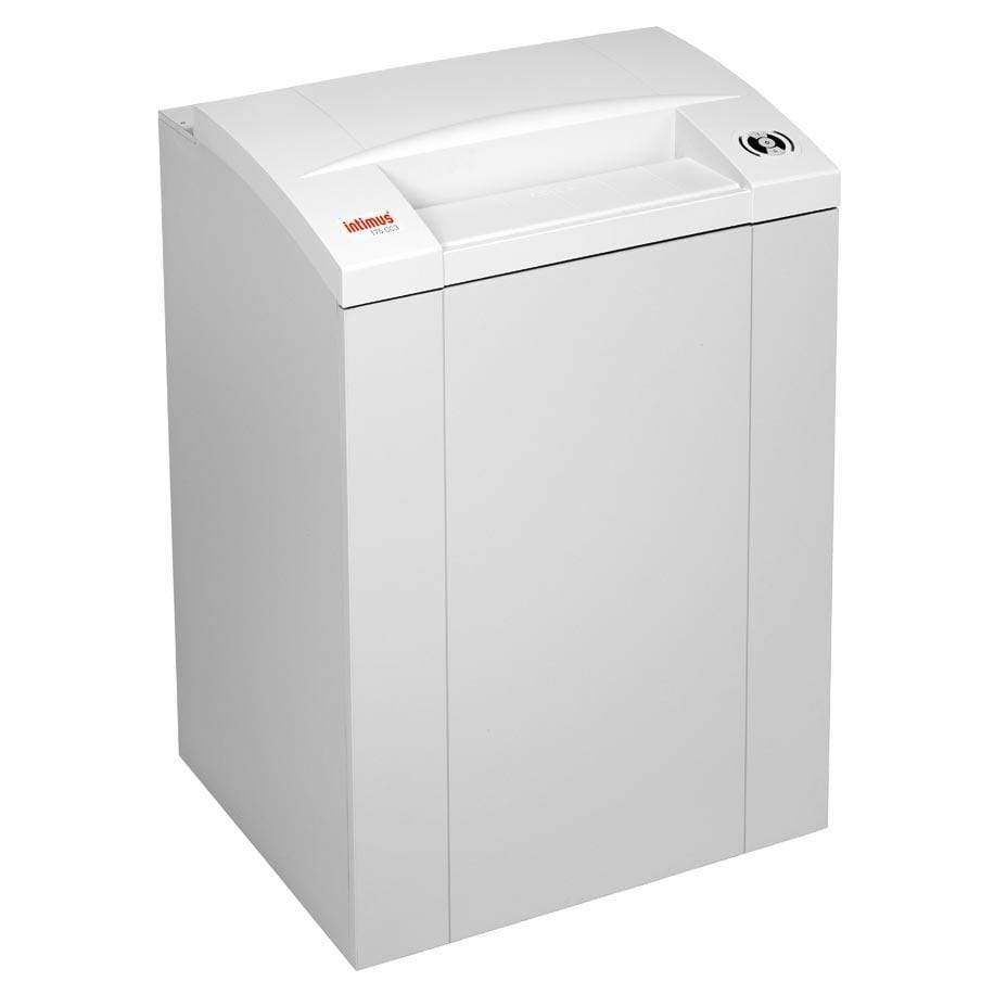 Intimus 297291P1 Pro 175 CP7 Paper Shredder w/ Oiler Package Armadillo Safe and Vault