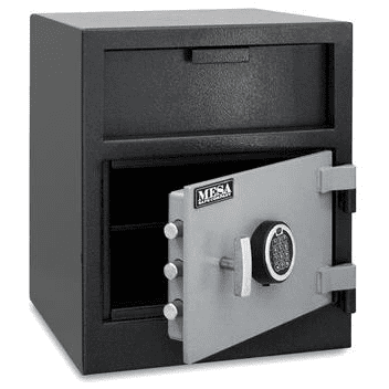 Mesa MFL2118E Cash Management Depository Safe Armadillo Safe and Vault