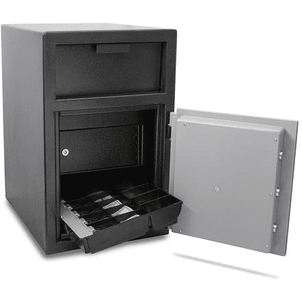Mesa MFL25CILK Cash Management Depository Safe Armadillo Safe and Vault
