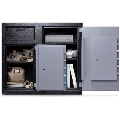 Mesa MFL2731CC Dual Chamber Depository Safe Armadillo Safe and Vault