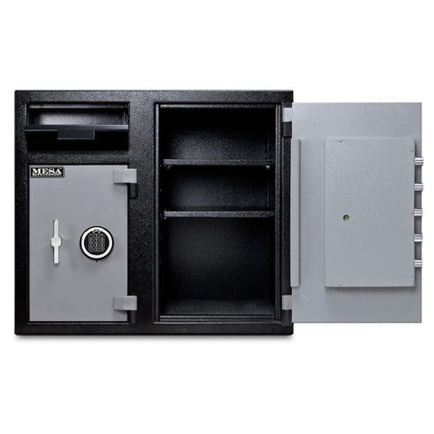 Mesa MFL2731EE Dual Chamber Depository Safe Armadillo Safe and Vault