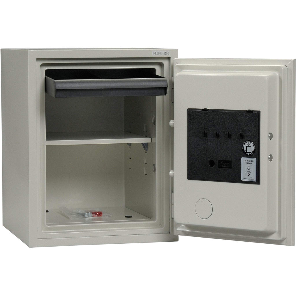 Phoenix 1223 Olympian Key and Combination Dual Control Fireproof Safe 1.3 cu ft Armadillo Safe and Vault