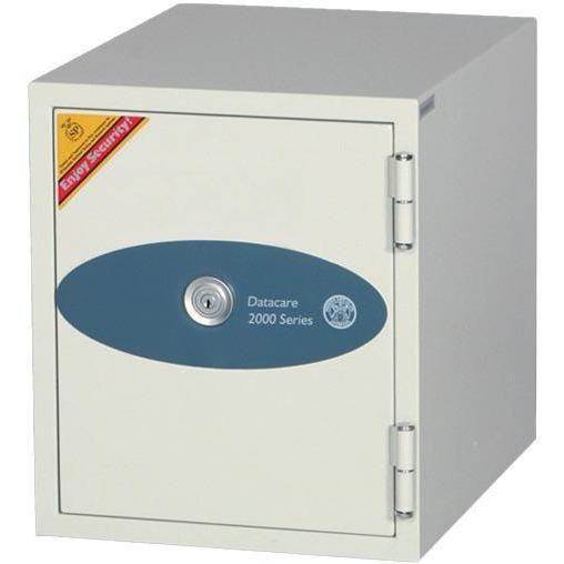 Phoenix 2001  Datacare 1-Hour Key Lock Fireproof Media Safe 0.26 cu ft Armadillo Safe and Vault