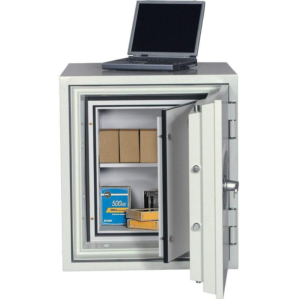 Phoenix 2003 Datacare 2-Hour Key Lock Fireproof Media Safe 2.8 cu ft Armadillo Safe and Vault