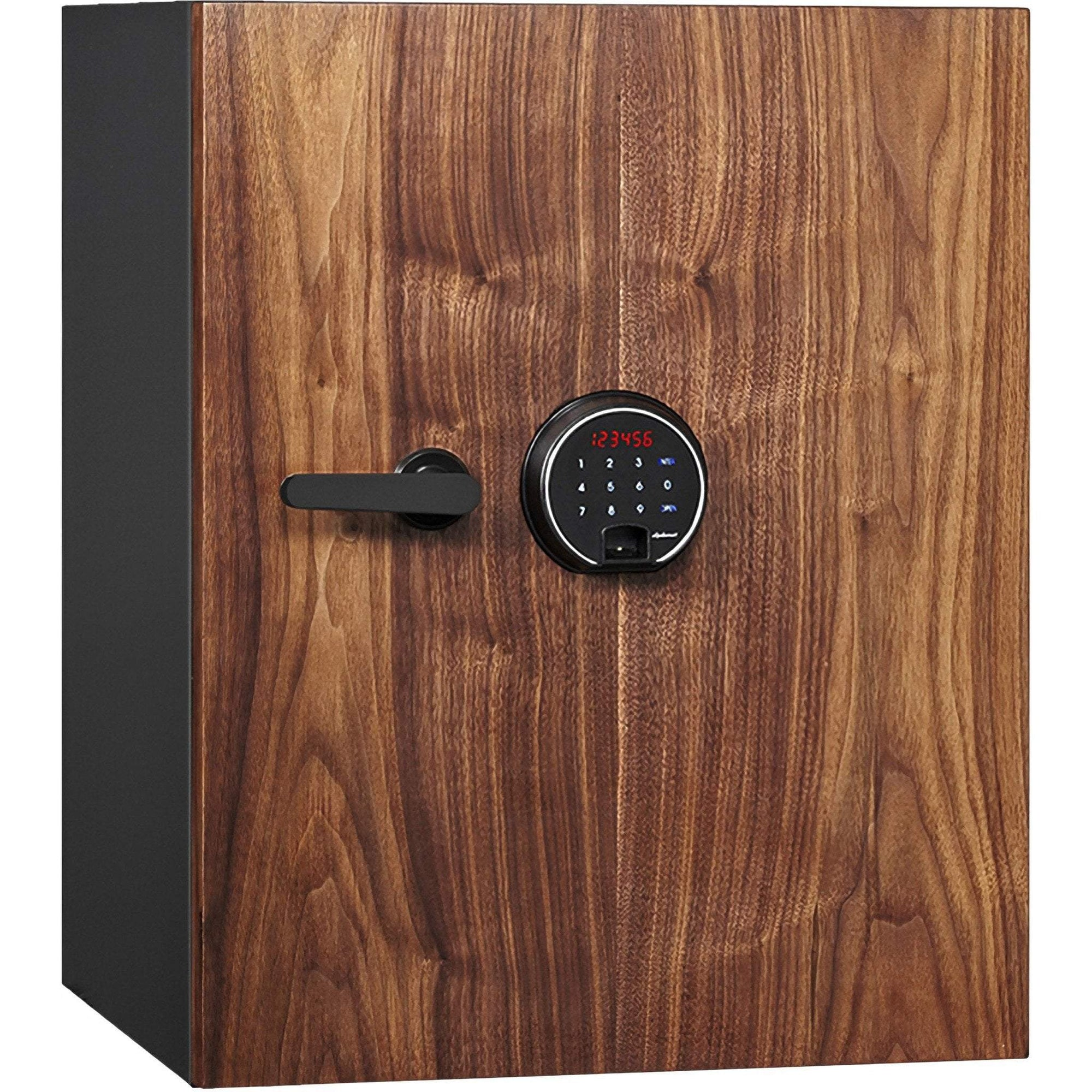 Phoenix DBAUM700 Fingerprint Lock Luxury Fireproof Safe with Walnut Door Armadillo Safe and Vault