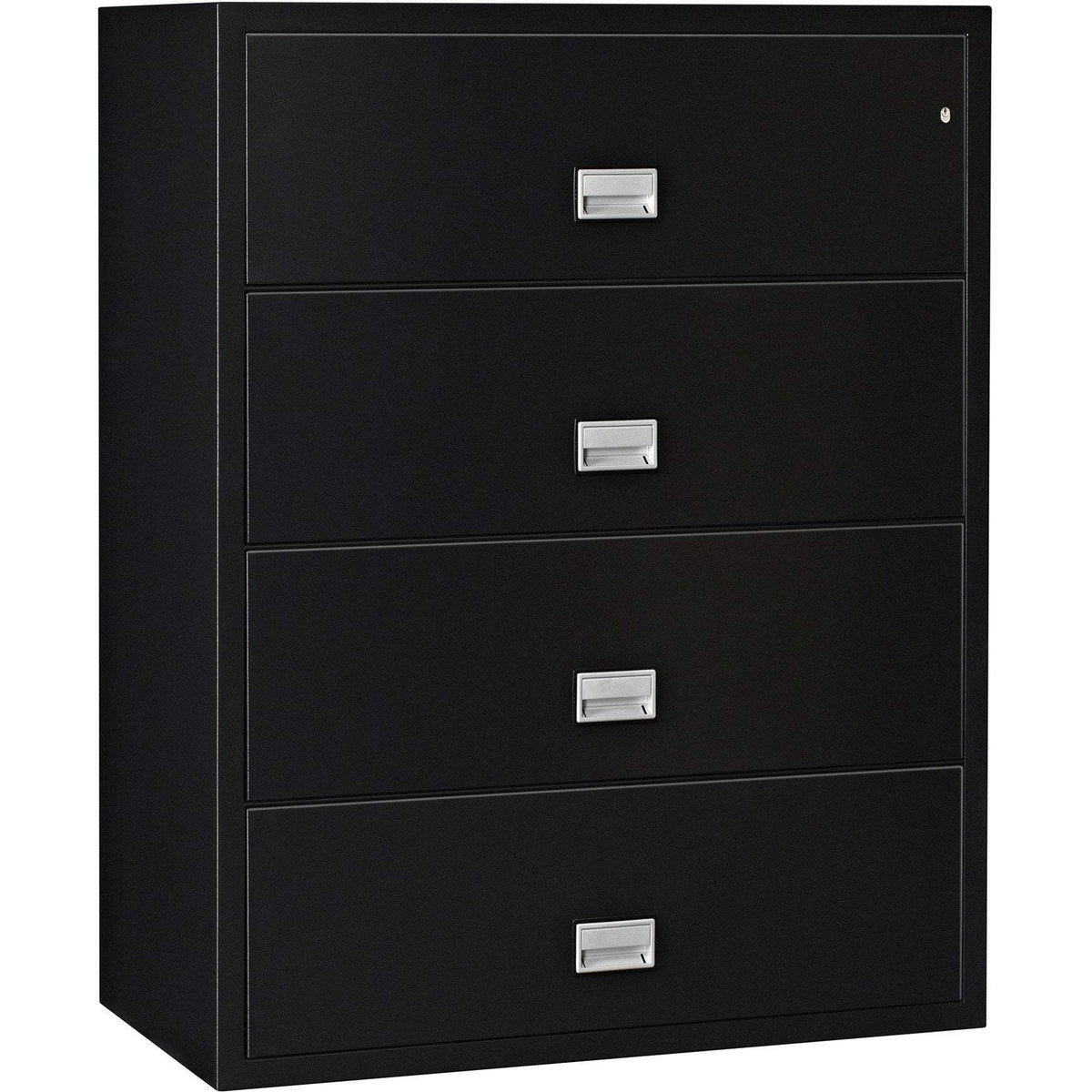 Phoenix LAT4W44 Lateral 44 inch 4-Drawer Fireproof File Cabinet Armadillo Safe and Vault